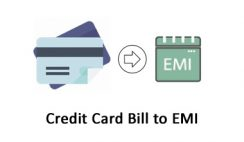 credit card bill to emi