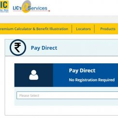 LIC Pay Direct