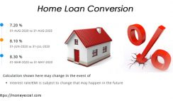 home loan conversion