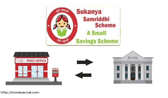 Transfer Sukanya Samriddhi Account
