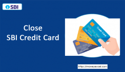 Close SBI credit card