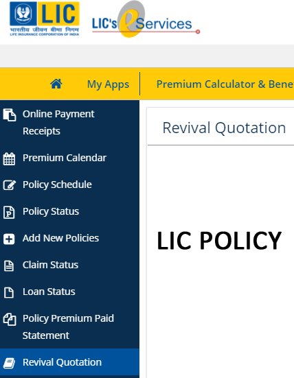 LIC Lapsed Policy