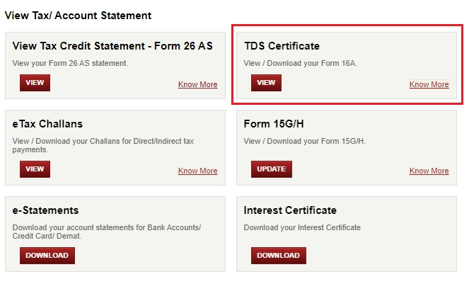 How Icici Bank Customer Can Download Form 16a Online The income in one financial earned gets assessed(checked) in the next financial year which is called. download form 16a online