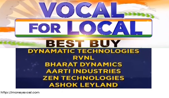 Atmanirbhar Bharat- vocal for local