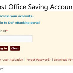 Post Office Savings Account