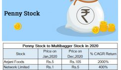 penny stock to multibagger stock