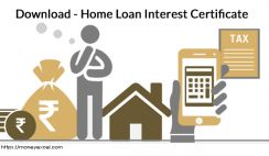 Home Loan Interest Certificate