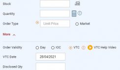 VTC order ICICI Direct
